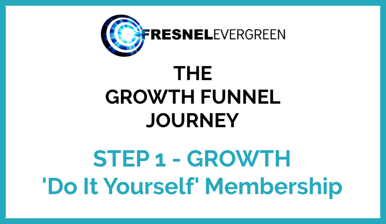 The Growth Funnel Journey Step 1 Growth Do It Yourself Membership
