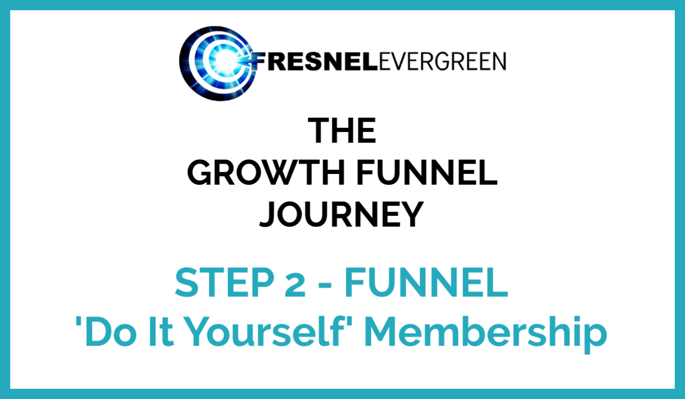 Step 2 FUNNEL - Do It Yourself Membership