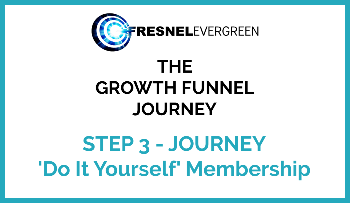 Step 3 JOURNEY - Do It Yourself Membership