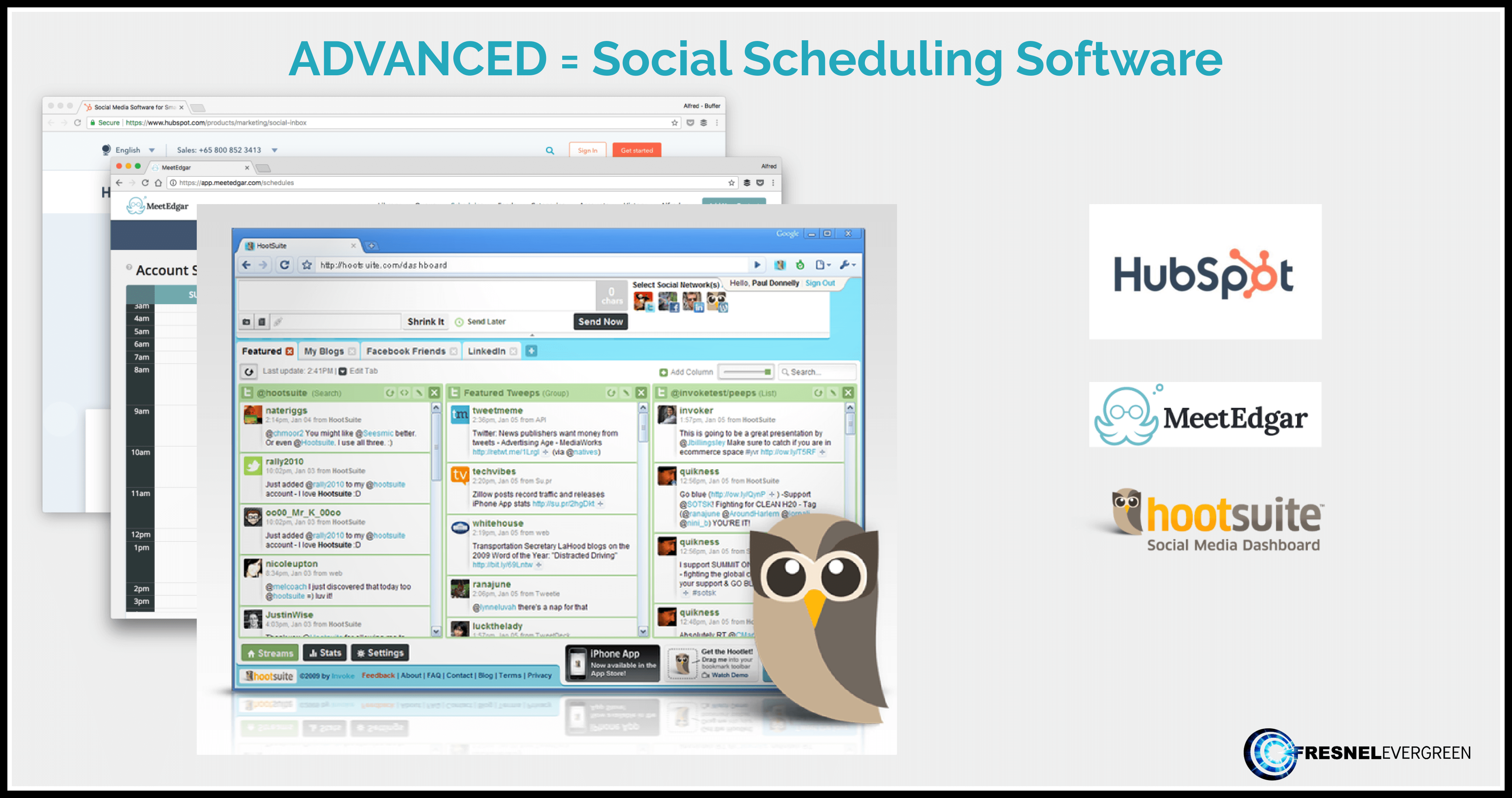 Social-Scheduling-Software