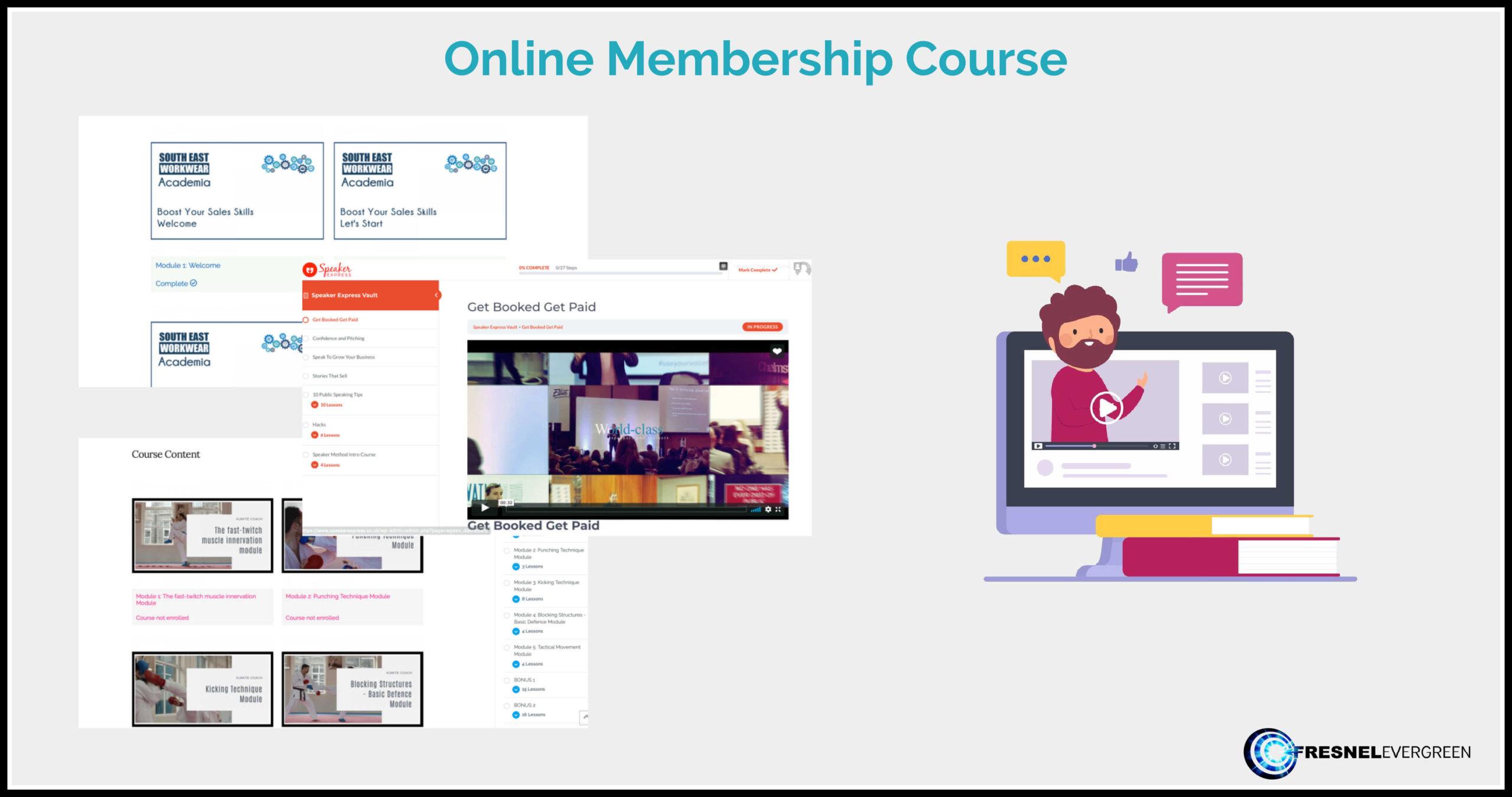 online membership course